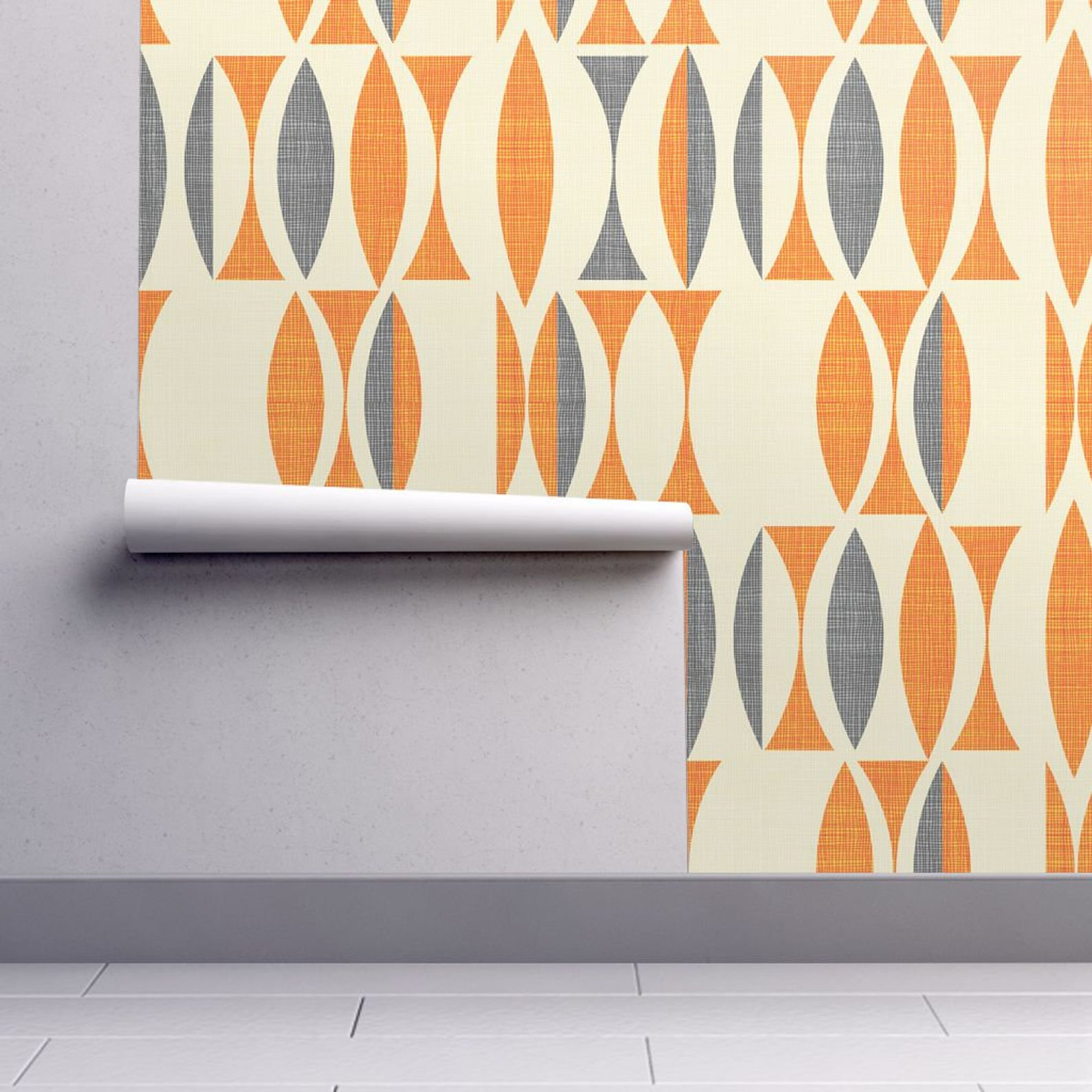 Picture of: 5 Mid Century Modern Designs For Self Adhesive Wallpaper